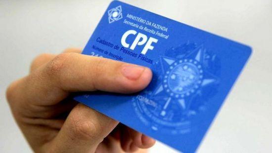 Atualização dos Dados do CPF pela Internet